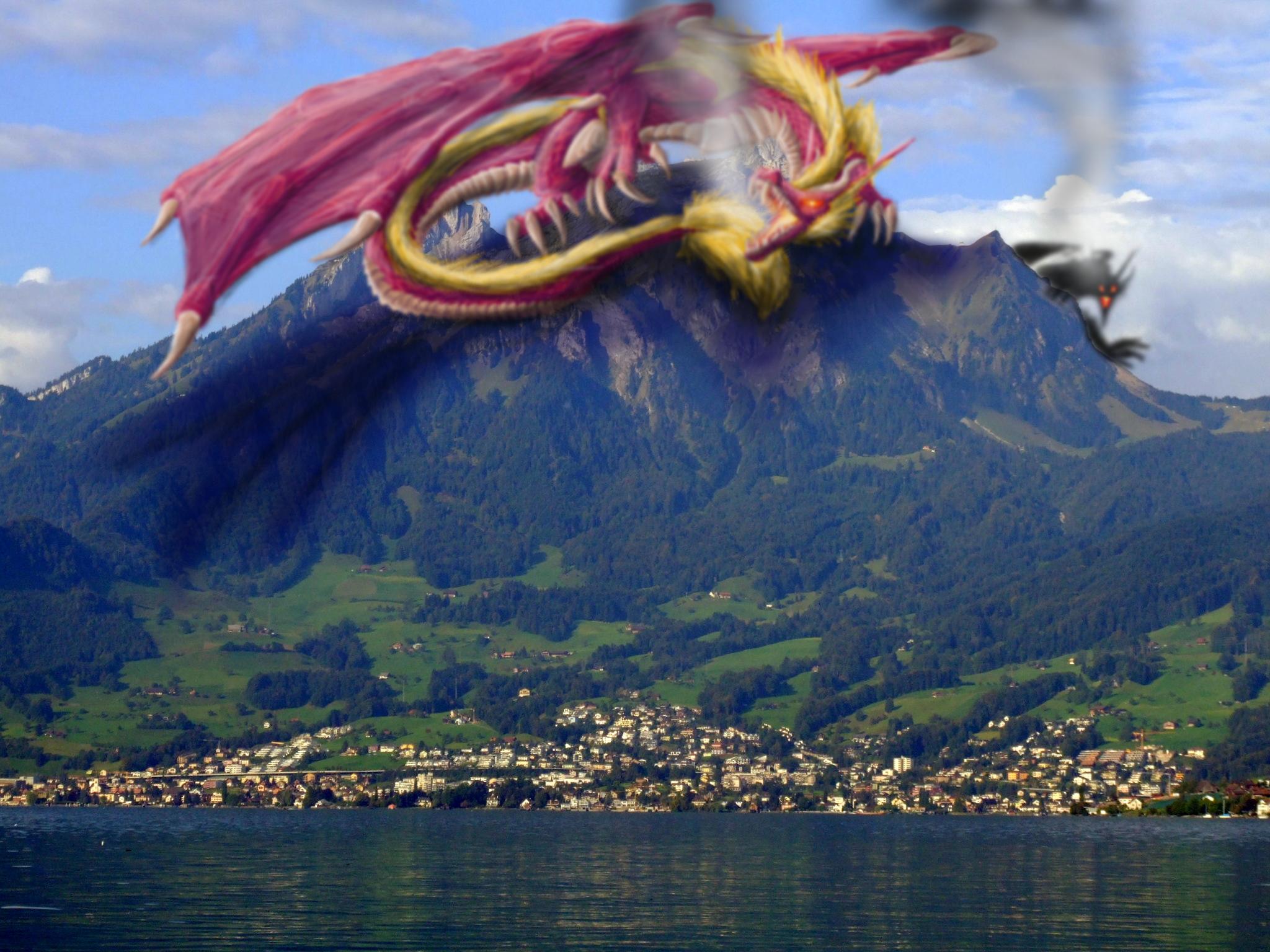 Mount Pilatus Mountain in Switzerland Sightseeing and