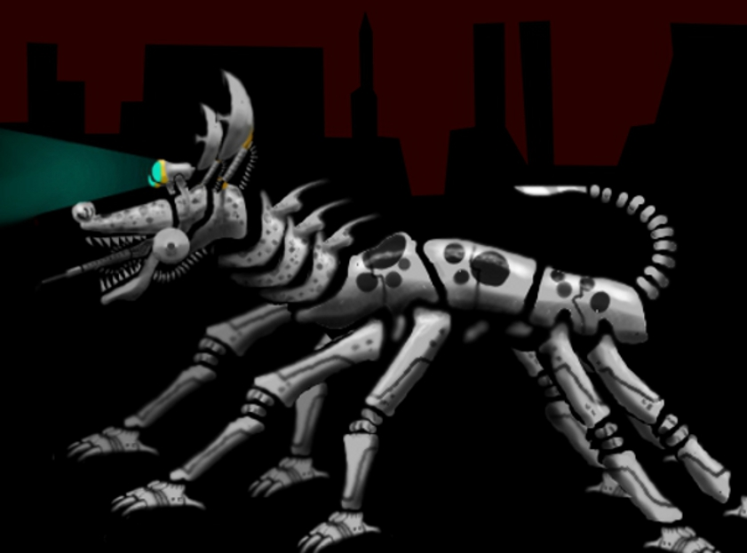 The Mechanical Hound from FAHRENHEIT 451 by gomro on ...  Fahrenheit 451 Mechanical Hound Movie