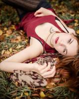 Herbstlaubreigen by Schlammkrabbe