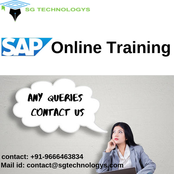 SAP Online Training For all the Modules by sgtechnologys on DeviantArt