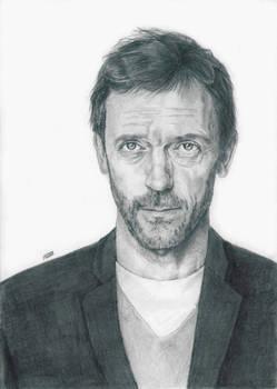 Hugh Laurie as House M.D.