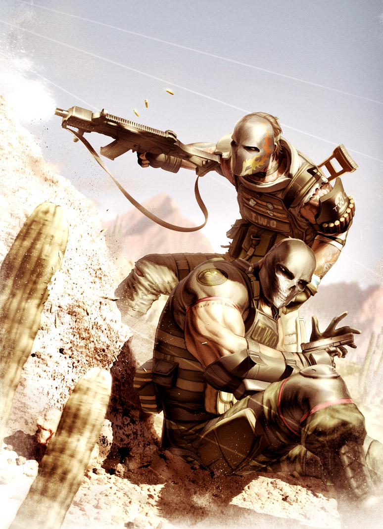 Army of Two - Desert Warfare by chesterocampo