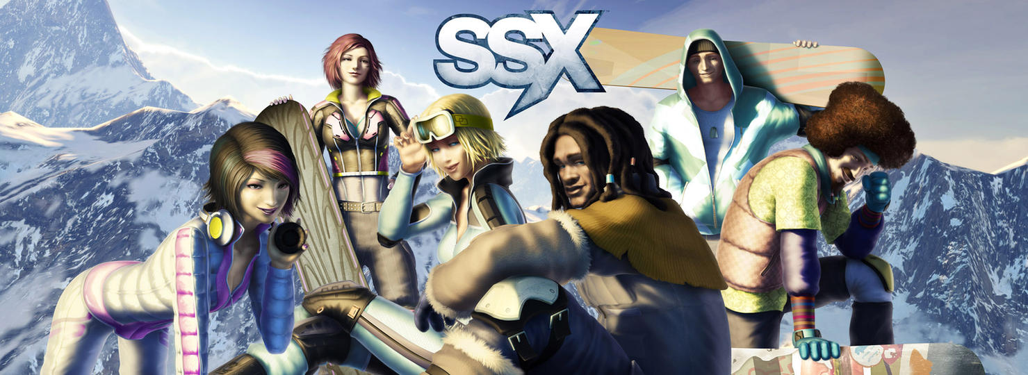 SSX by chesterocampo
