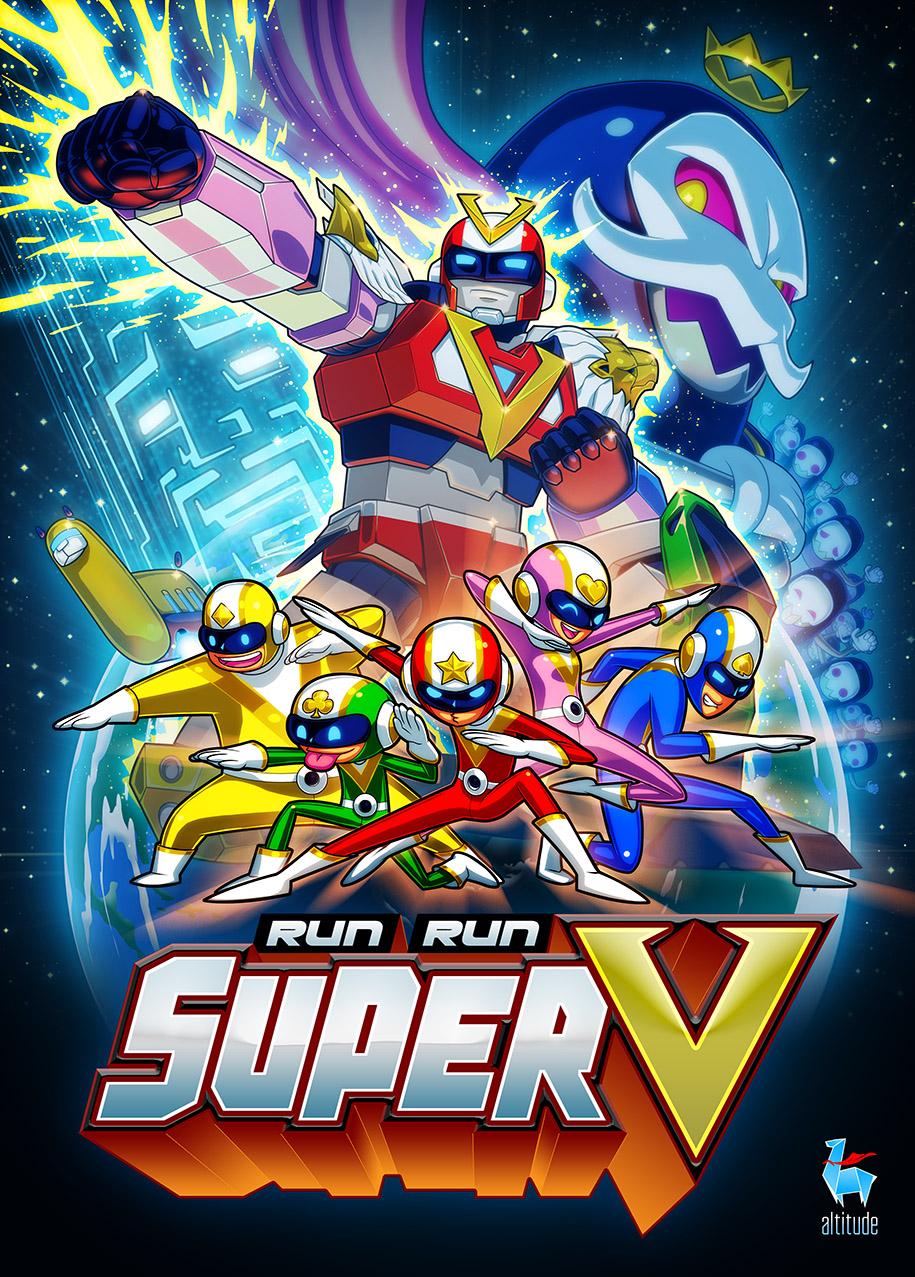 Run Run SUPER V by chesterocampo