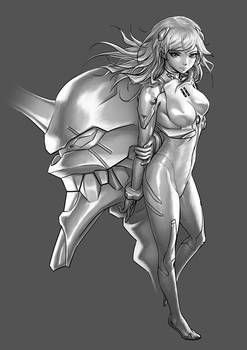N.G.E. - Grayscale Rendering (Part 2)