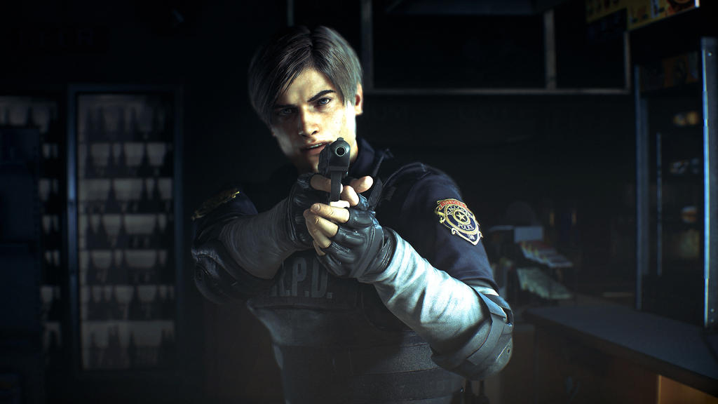 Resident Evil 2 Remake Leon s Kennedy by xGamergreaserx