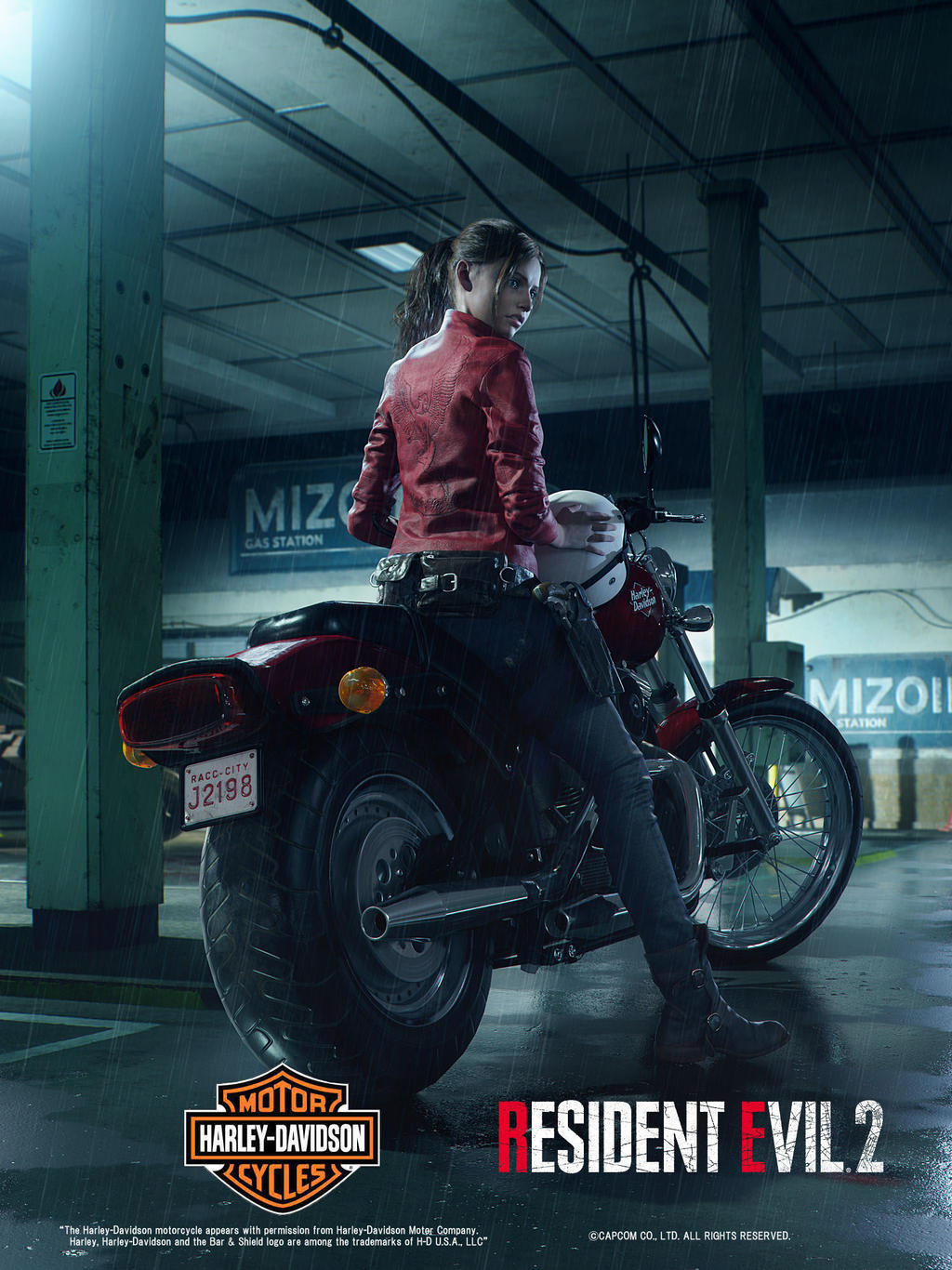 Resident Evil 2 Remake Claire Redfield Poster By Xgamergreaserx On Deviantart