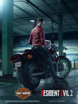 Resident Evil 2 Remake Claire Redfield Poster