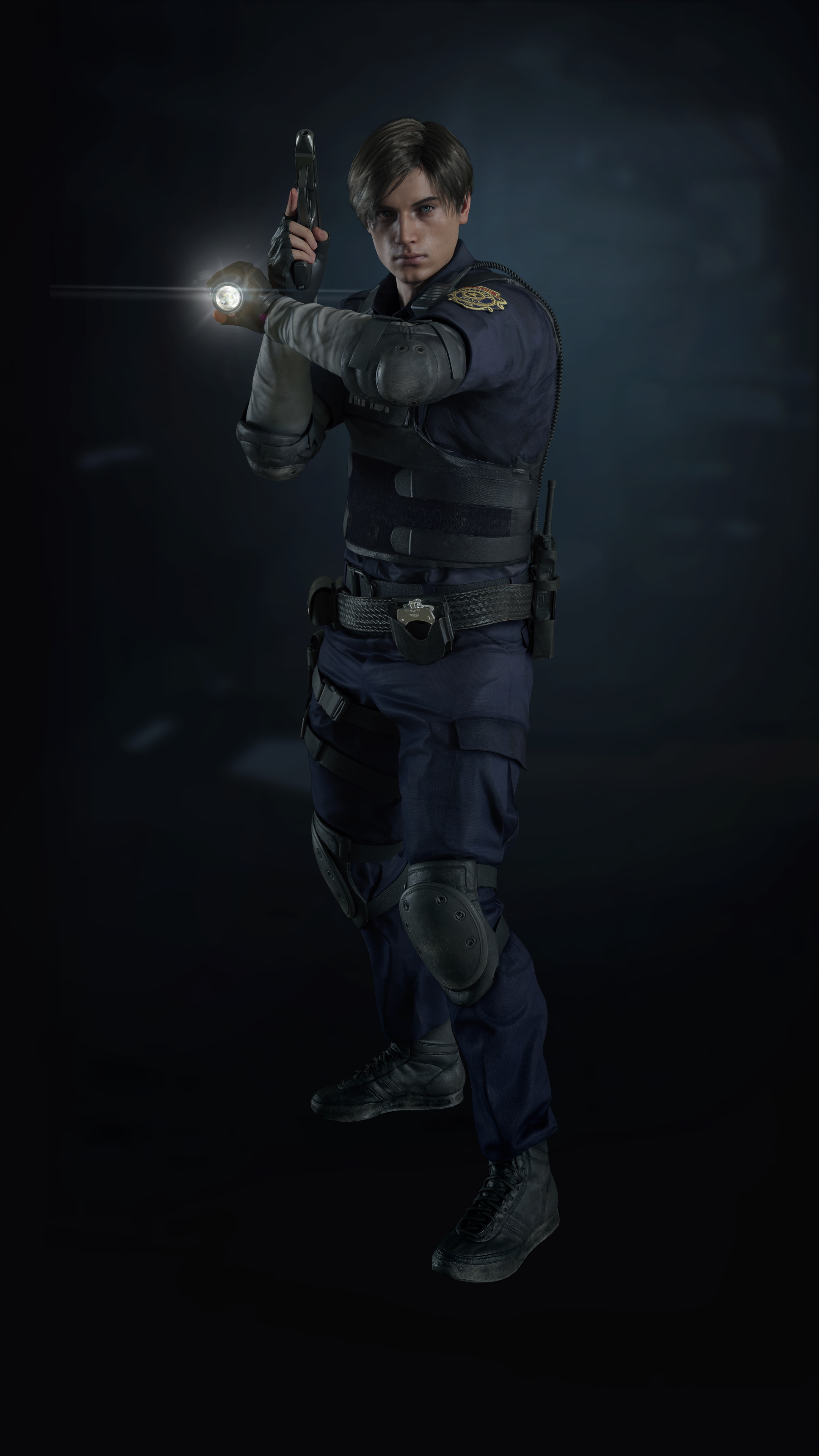 Resident Evil 2 Remake Leon S Kennedy By Xgamergreaserx On Deviantart