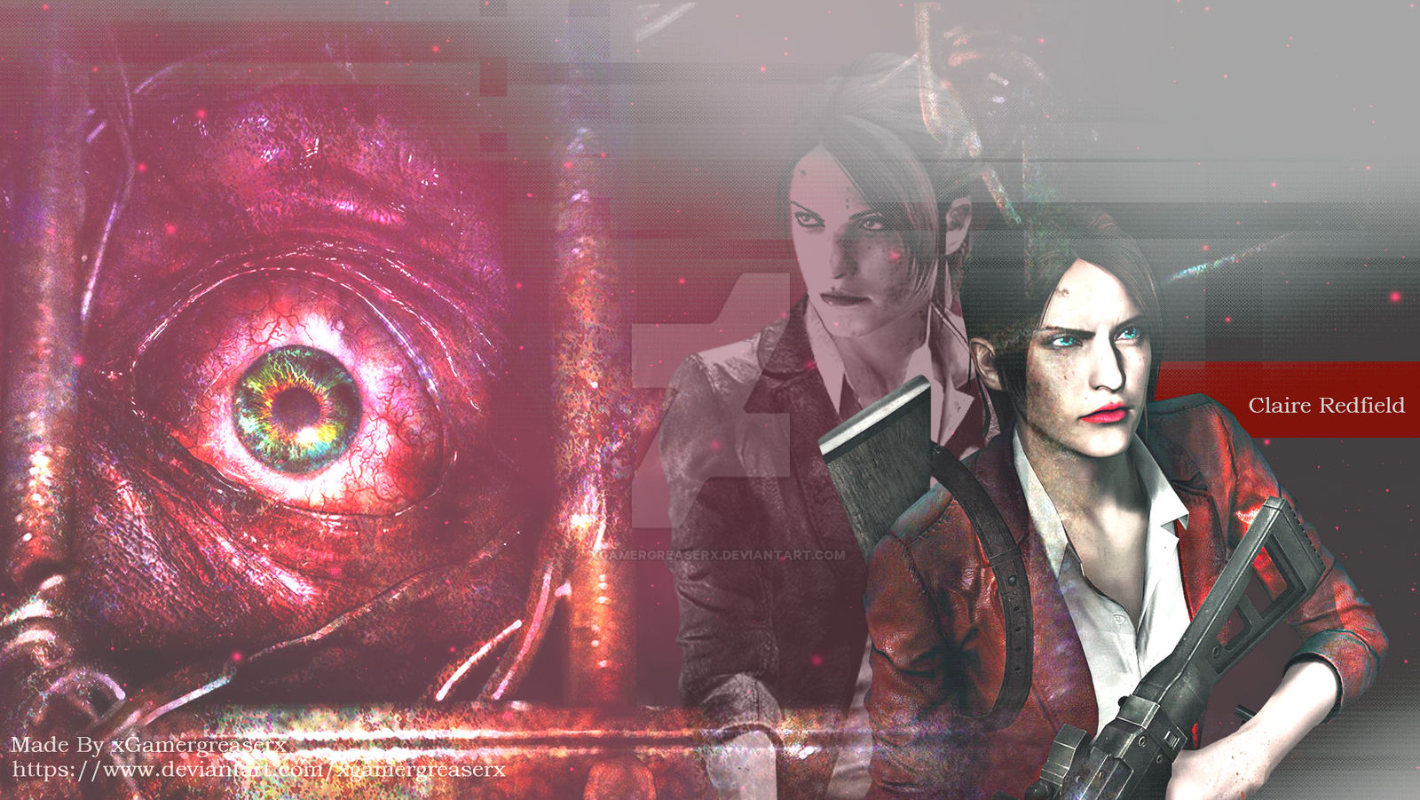 Resident Evil 2 Remake Claire Redfield Wallpaper 2 By