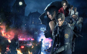 Resident Evil 2 Remake Oiffical Artwork by xGamergreaserx