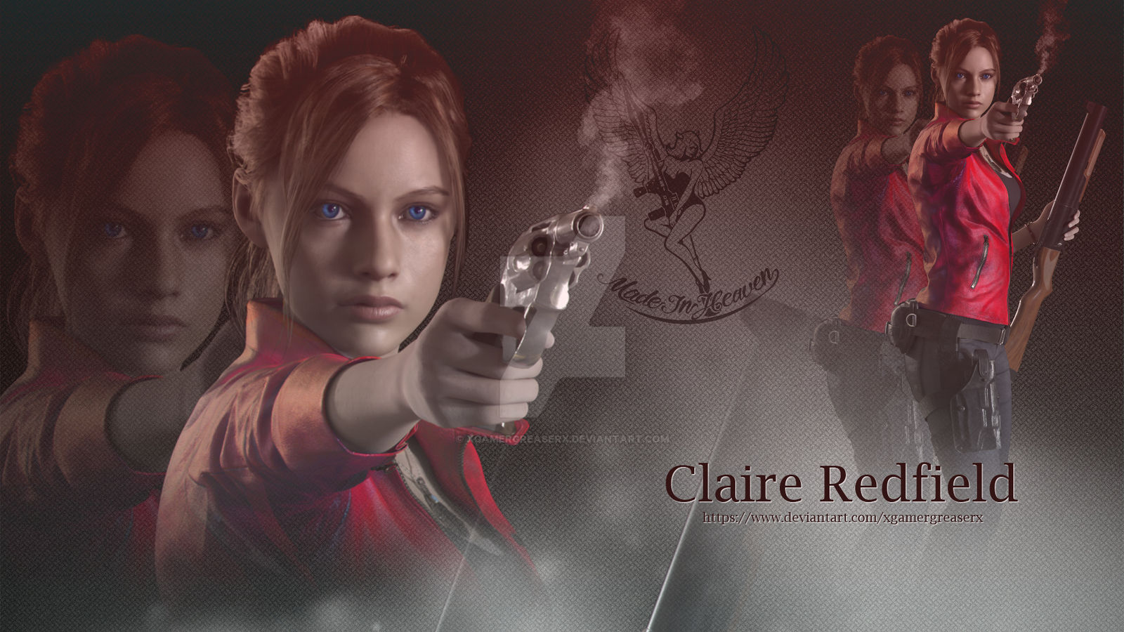 Resident Evil 2 Remake Claire Redfield Wallpaper 3 By