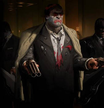 The GodFather Five Families Zombie Enforcer