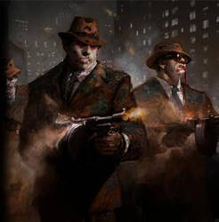 The Godfather Mobster Zombie Tommy Gunner 2