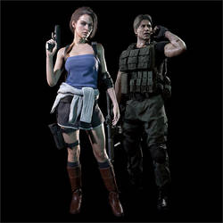 Resident Evil 3 Remake Classic Outfits Full