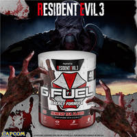 ResidentEvil 3 Gfuel Nemesis Tea Flavor Tub