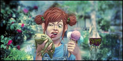 Swamp Girl tag by shroudedlegion