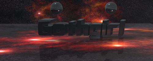 Gothgirl 3-D tag by shroudedlegion