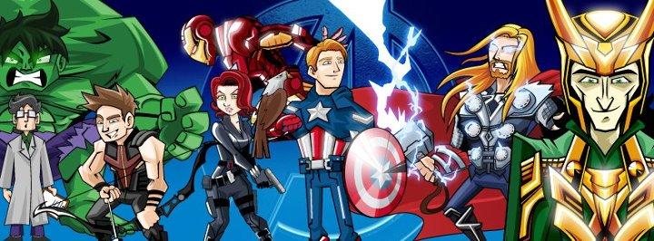 Avengers FB by orikakiro