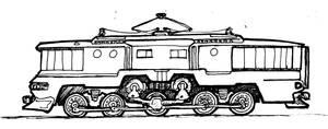 Retro Electric Locomotive