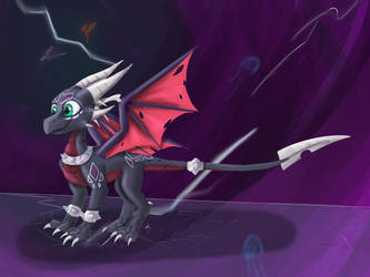 Reignited Cynder by Purple-Lives-Matter