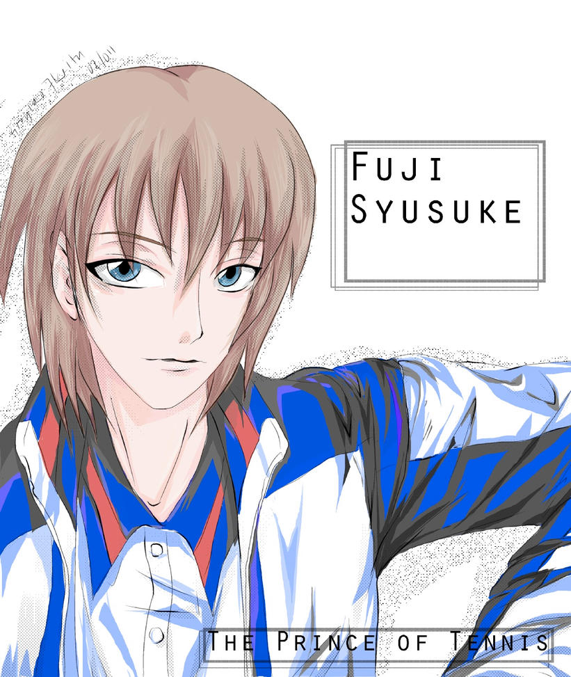 Fuji Syusuke Fanart colored by soujiro7keita