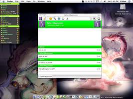 My desktop with Adium