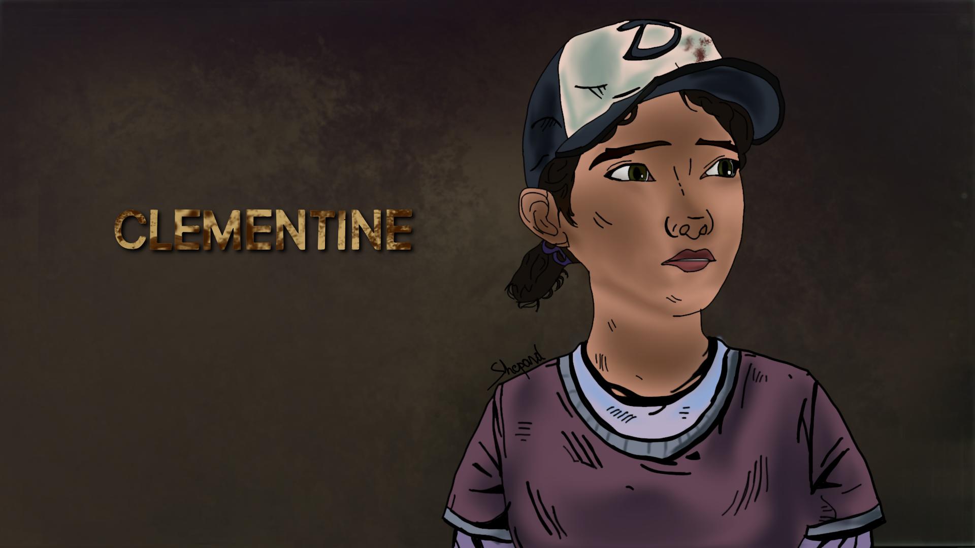 Clementine The Walking Dead Season 2 By Darkshepard666 On