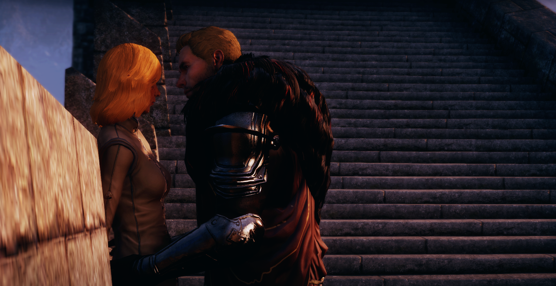 Dragon Age Cullen And Inquisitor By Darkshepard666 On Deviantart