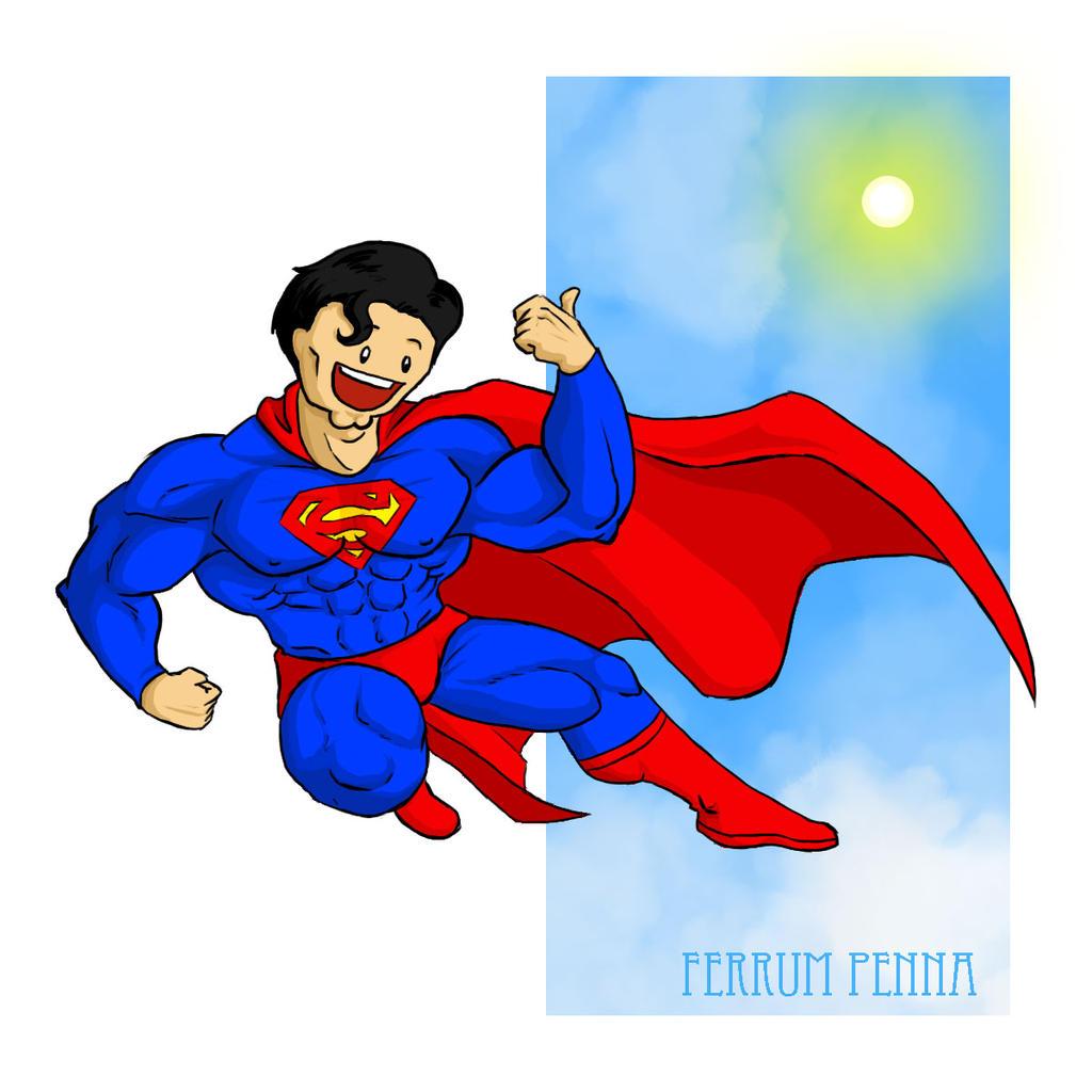 Superman Paintings On Canvas