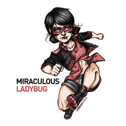 Miraculous Ladybug by FerrumPenna