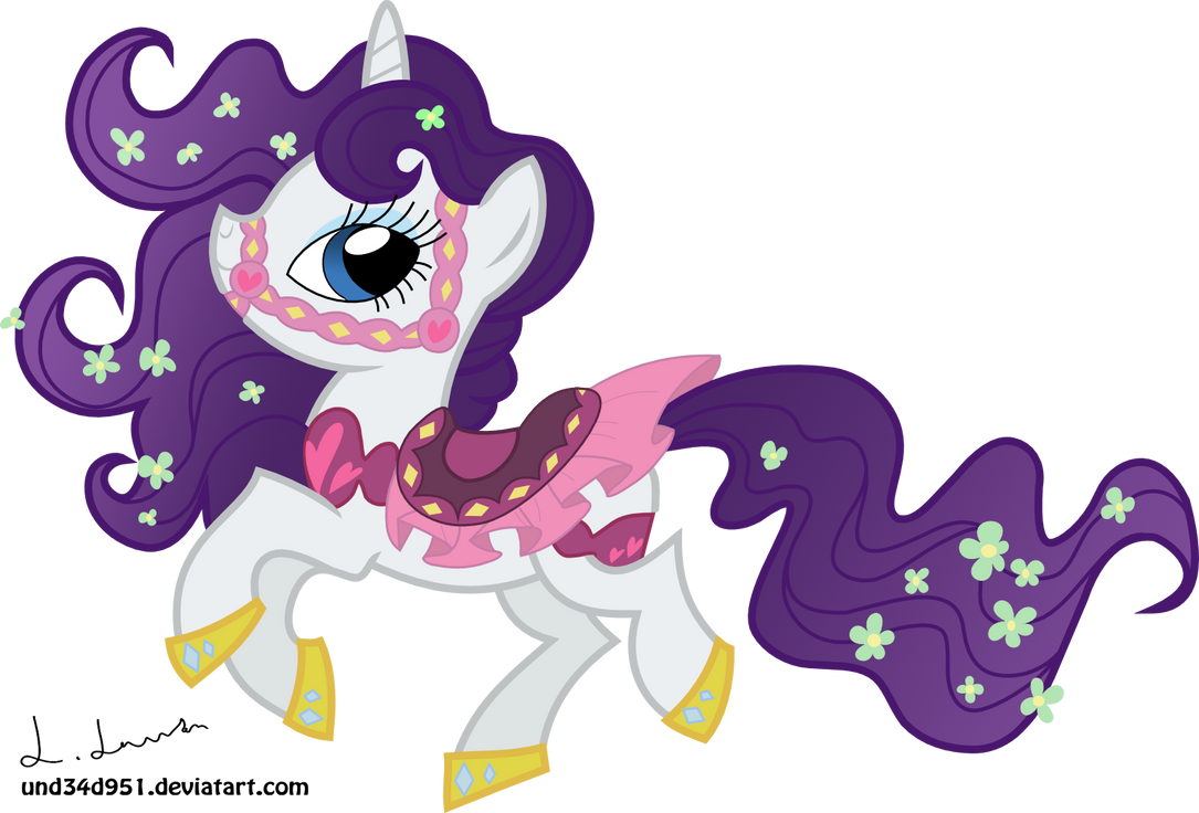 Rarity, looking flash by und34d951