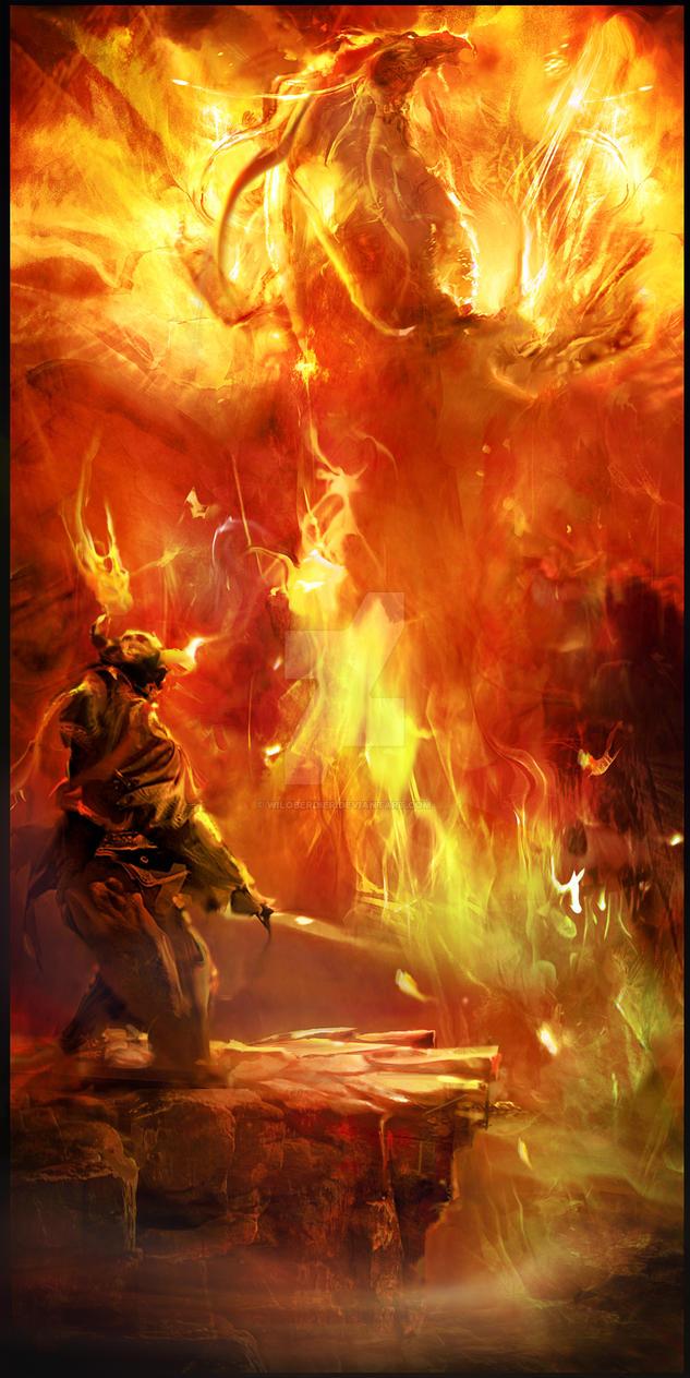 Fireborn by wiloberdier