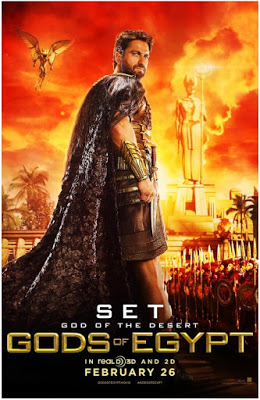 Gods of Egypt poster! by priestessmikokikyo