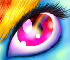 Beautiful rainbow eyes by DinaaDiaz2380