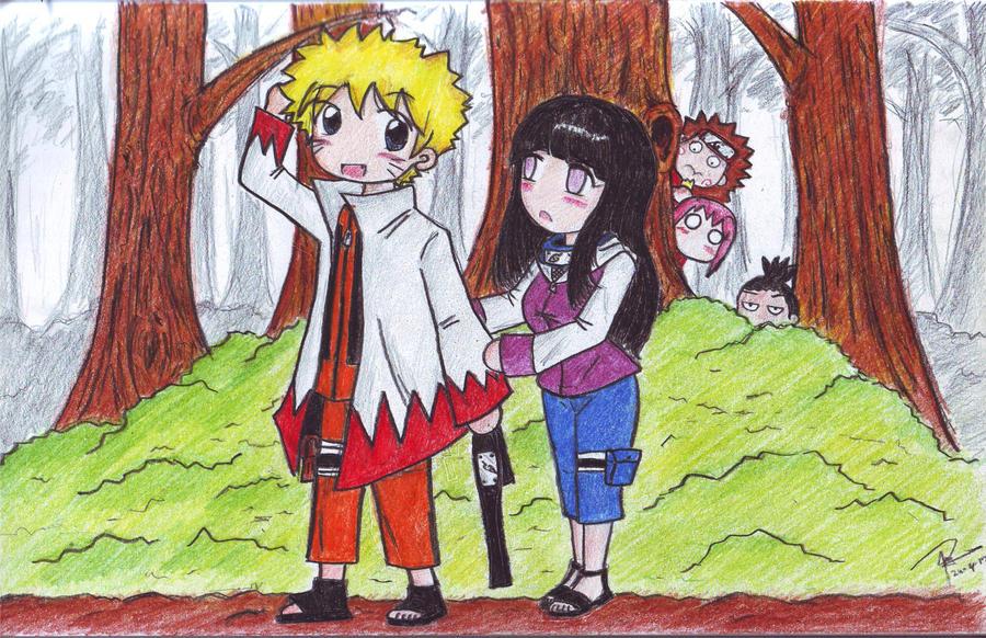 Naruto and hinata funny moment