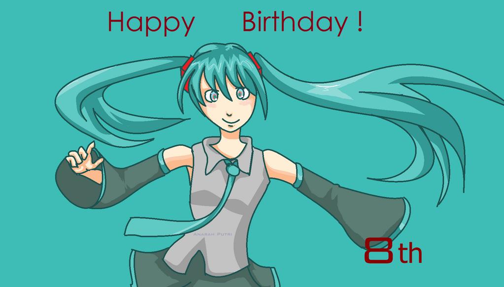 Happy Birthday Miku! by teto-and-rin