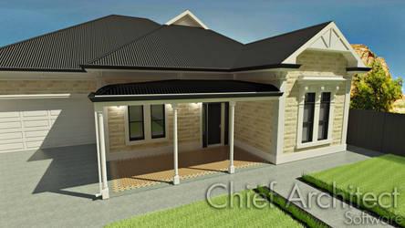 KB-03040: Creating a bullnose verandah