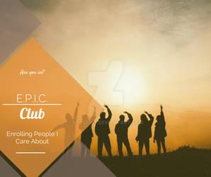 E.P.I.C. Club Facebook Post