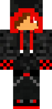 Red creeper jacket and guy for minecraft