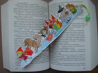First bookmark - Fairytales by edzik