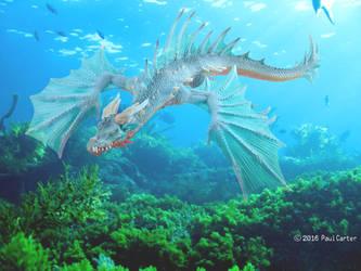 Sea Dragon by thehunterofsouls