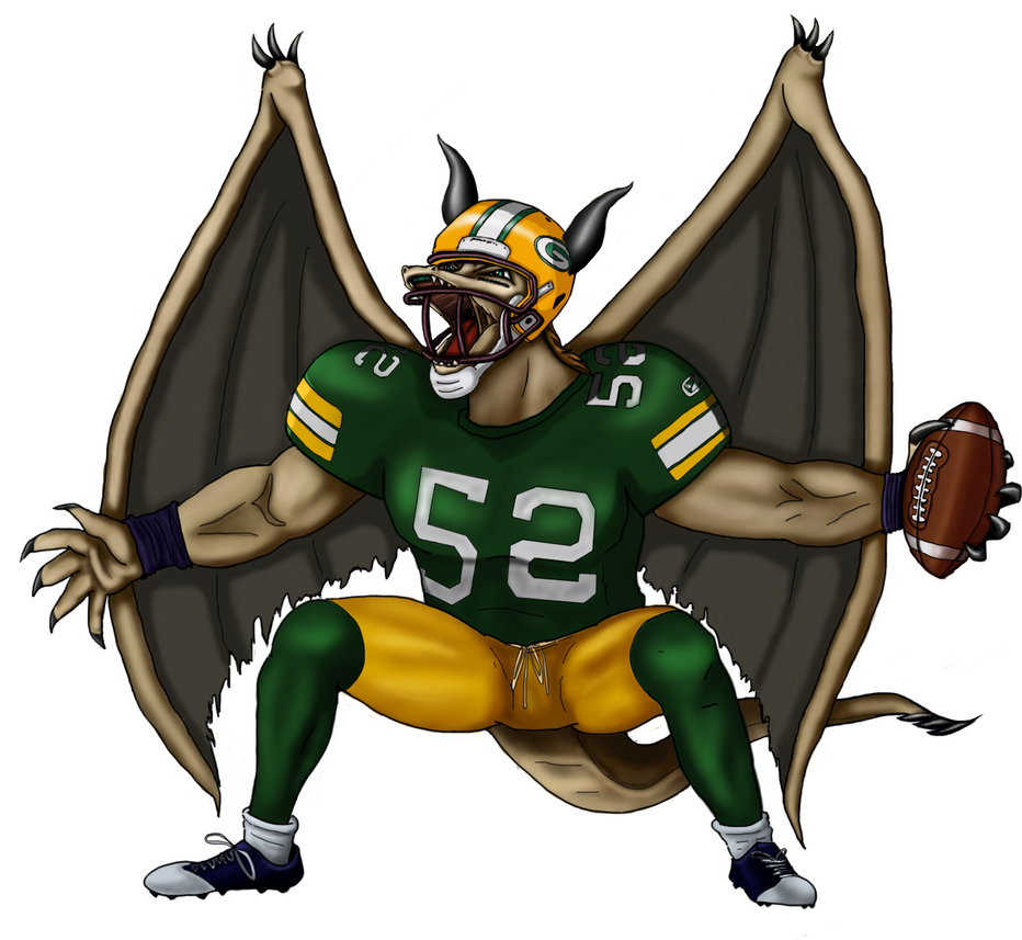 Packers Dragon by Cemhta