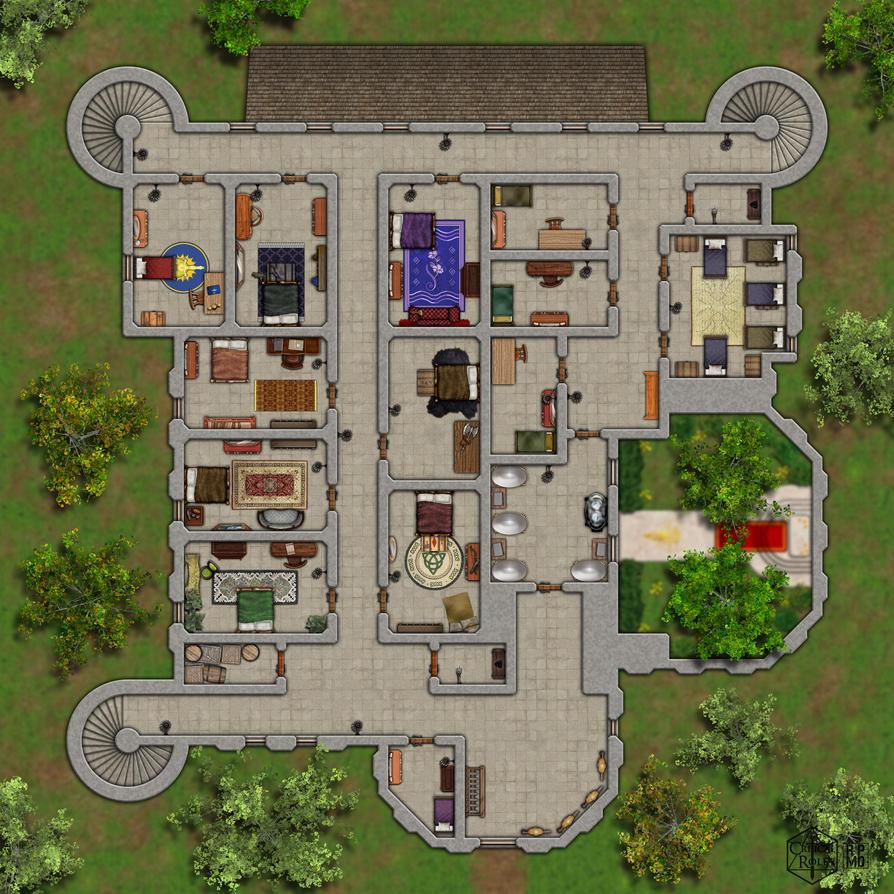 Greyskull Keep 2nd Floor By Ronpeppermd On Deviantart