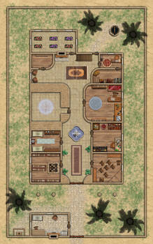 Mage Guild - 1st Floor (Roll20 preview)
