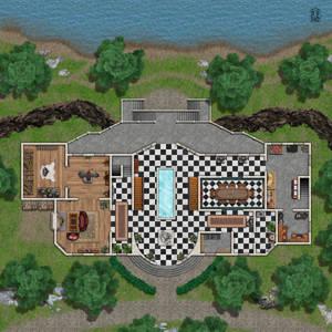 Warrior's Mansion - 1st Floor