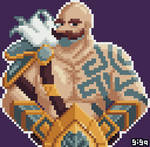 Braum is here! by gigapyxel