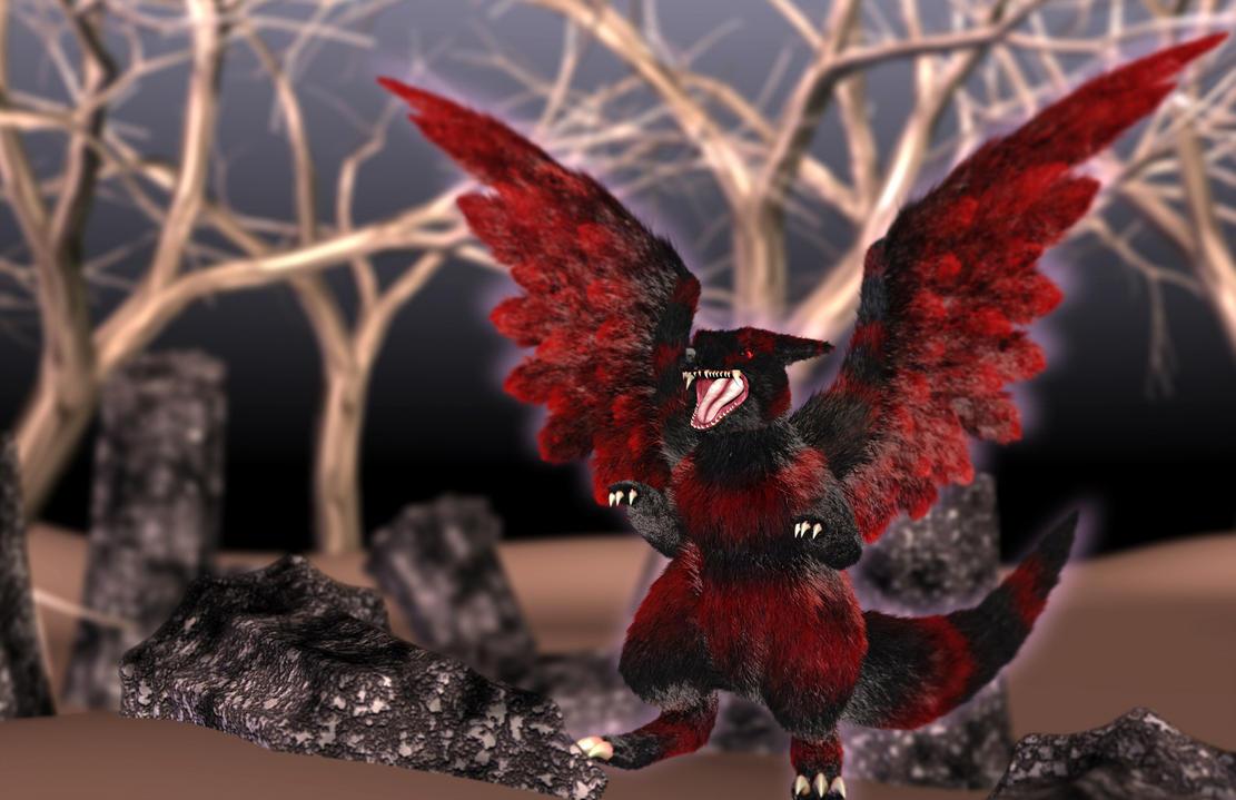'Risu Dragon' by AkaiGaru