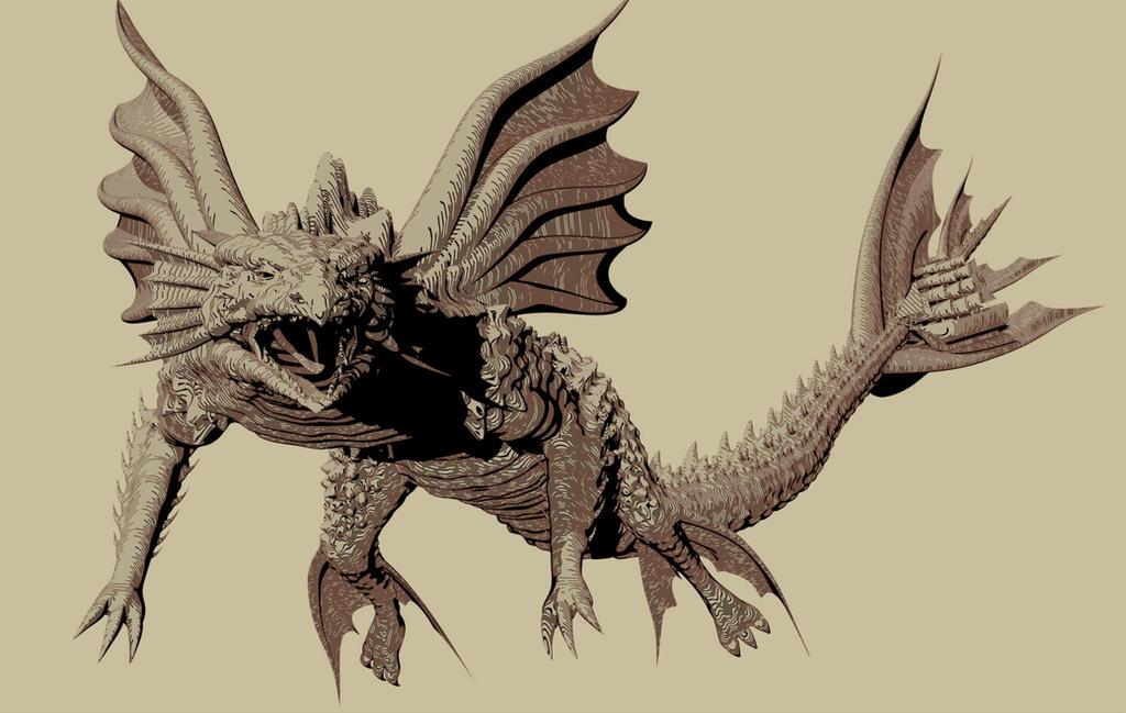 NPR DeepSea Dragon by AkaiGaru