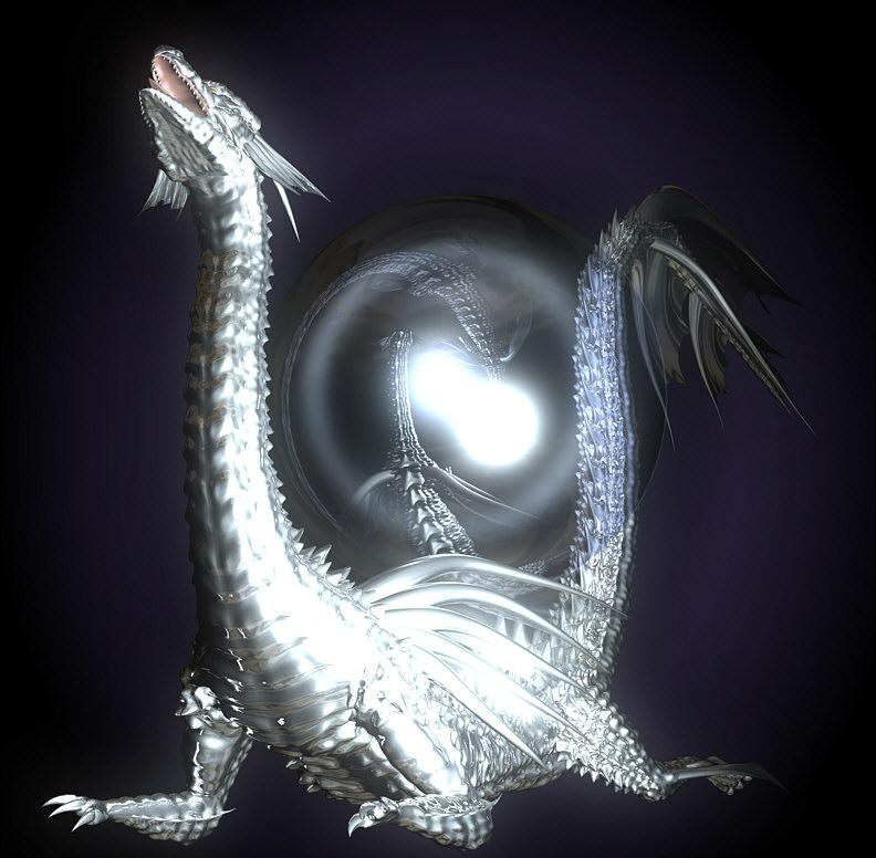 Orb and dragon